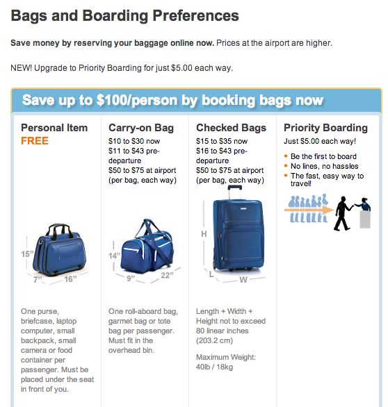 Jetblue Carry On Baggage Size Restrictions