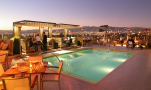 The Rooftop on Wilshire at Los Angeles' The Hotel Wilshire
