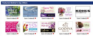 Shop at the American shopping portal for Mother's Day.