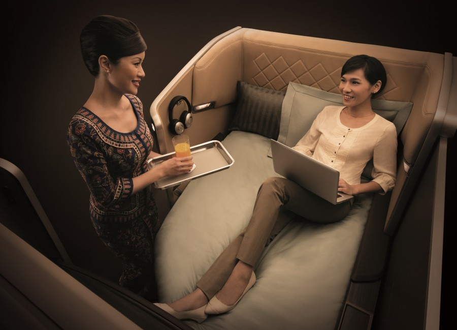 Use your points to fly in Singapore's exclusive First Class Suites.