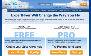 To find your best bump options, research itineraries with Expertflyer