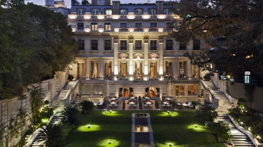 To fit our family in the Park Hyatt Buenos Aires, we had to upgrade to a suite.