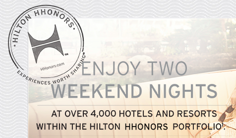 Hilton Reserve Two Free Nights