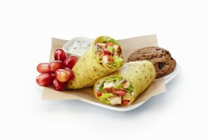 Luvo grilled chicken wrap