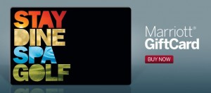 Marriot eGiftCards can be used at participating Marriott properties worldwide