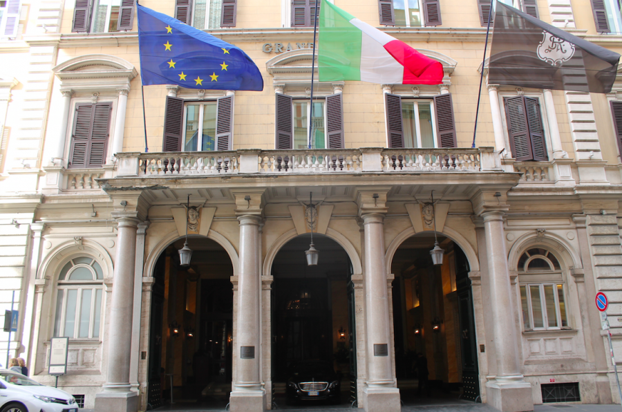 The St. Regis Rome, a Category 7 Starwood Property