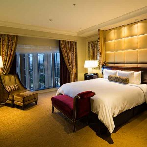 A Siena suite at the Palazzo Las Vegas