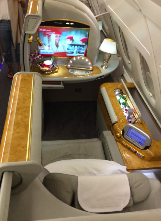 Top International First Class Seats You Can Book With
