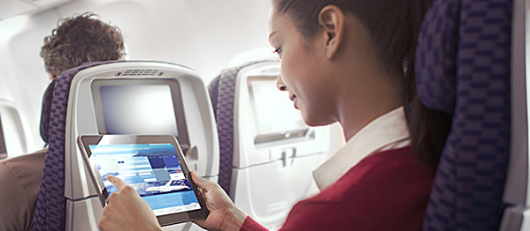 United manages their own Wi-Fi network on the majority of their planes, with many international aircraft already equipped with connectivity.
