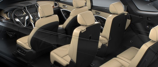 The Hyundai Santa Fe is classified as a mid-sized SUV, but it seats 7.