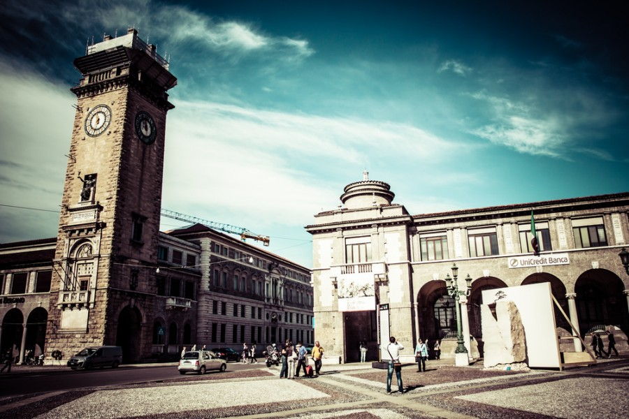 The Torre Civica in Bergamo. Image courtesy of Shutterstock