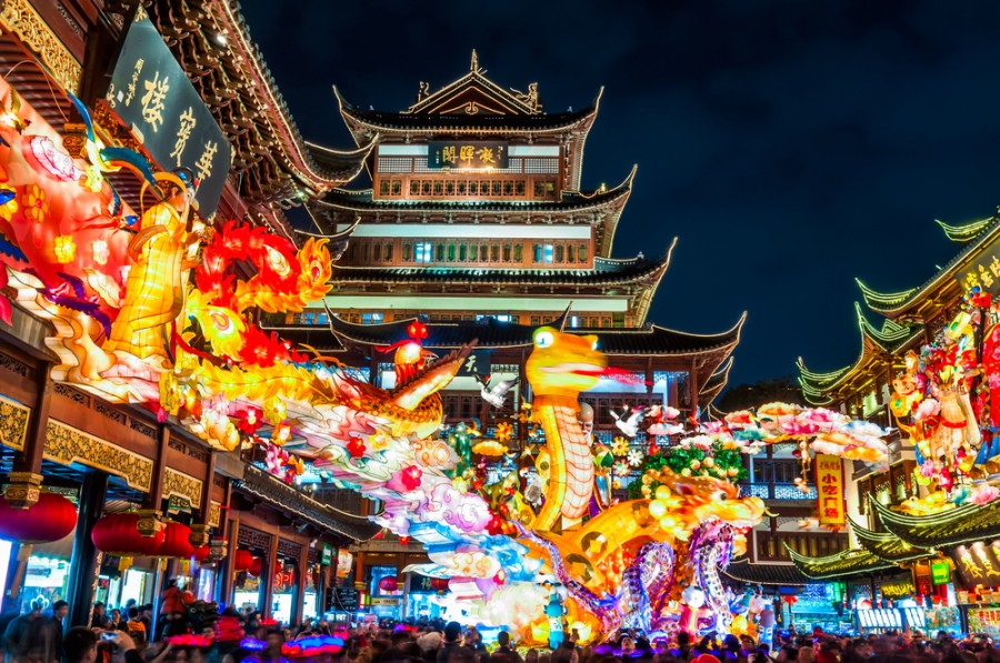If you've always wanted to visit Shanghai (or even Hong Kong), you can now earn bonus AAdvantage miles getting there (Image courtesy of Shutterstock)