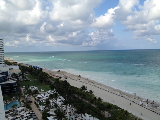 South Beach is beautiful, no doubt, but notice the complete lack of waves