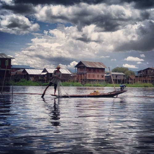 I couldn't wait to check out the traditional fishing villages of Inle Lake.