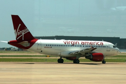 Virgin America plans to launch service at Dallas Love Field on October 13, 2014.