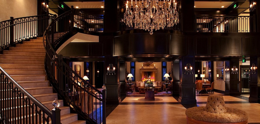 My wife and I redeemed free night certificates at the stunning Waldorf Astoria in Park City, Utah.