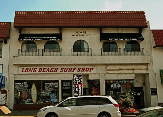 Photo courtesy of Long Beach Surf Shop