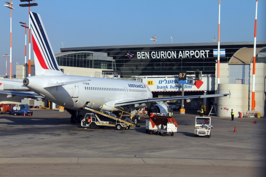 As of Tuesday's nearby missile explosion, all US flights to Tel Aviv's Ben Gurion Airport (TLV) have been grounded (Image courtesy of Flik47 / Shutterstock)