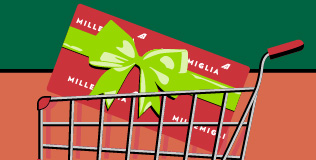 Get up to a 50% bonus on purchased Alitalia miles