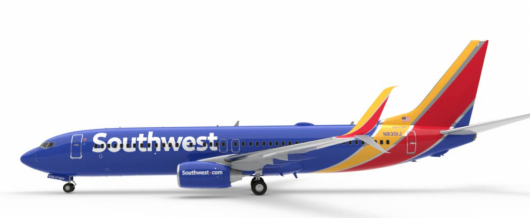 Southwest plans to revamp their new livery.