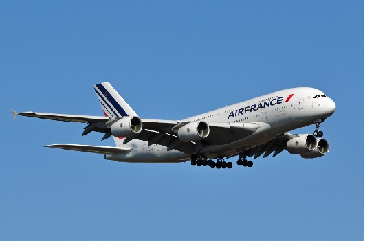 Air France is the largest member of the Flying Blue program.