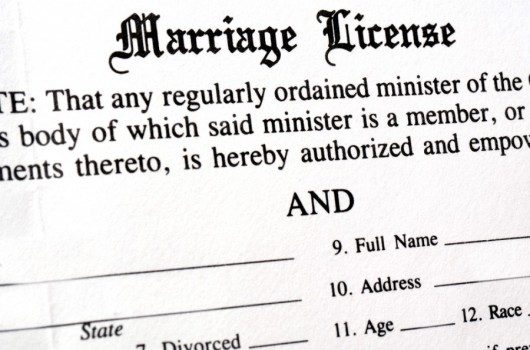 """This precious document could help you say """"'I do' want to get through security"""" (Image courtesy of Shutterstock)"""