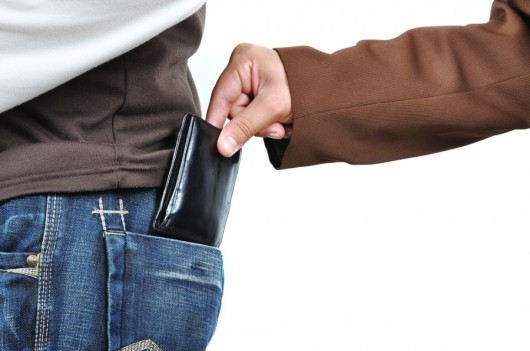 Wallet stolen while traveling? Bring along a police report to explain your case at security (Image courtesy of Shutterstock)