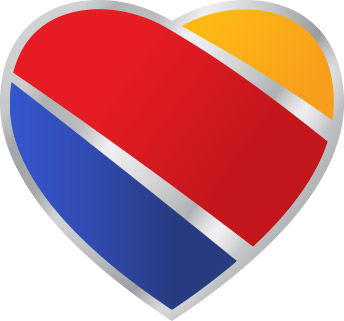 Southwest Airlines new logo featured
