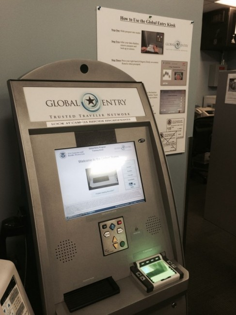 With Global Entry, you'll clear immigration quickly upon your return to the US.