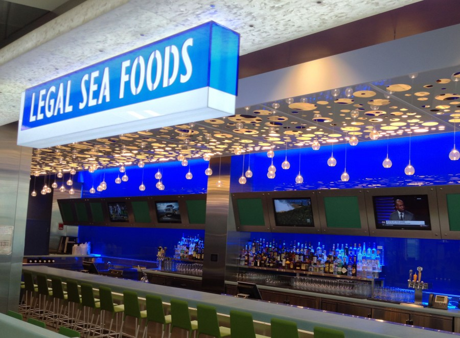 The ultimate guide to the best airport restaurants in the for Fish restaurant boston