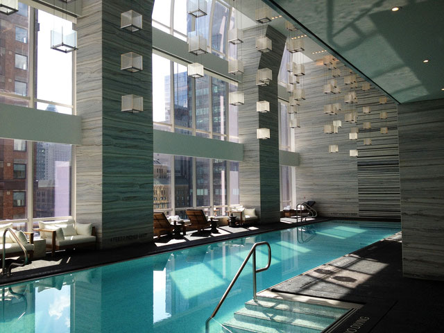 Hotel review park hyatt new york park deluxe king for 57th street salon