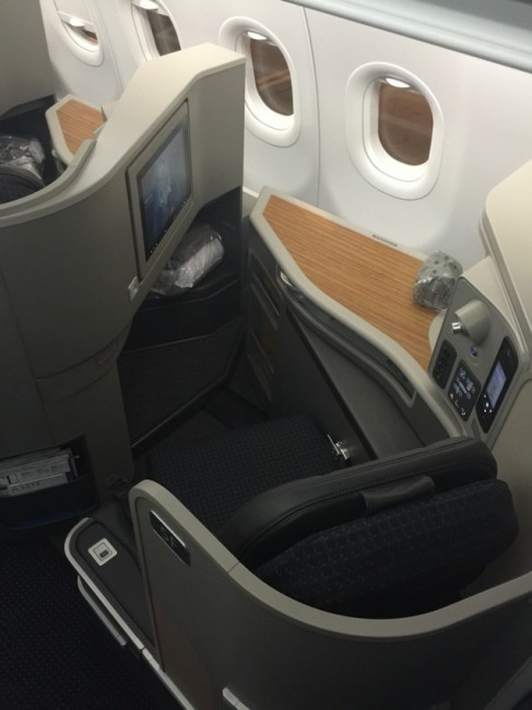 The AA321 First class seat