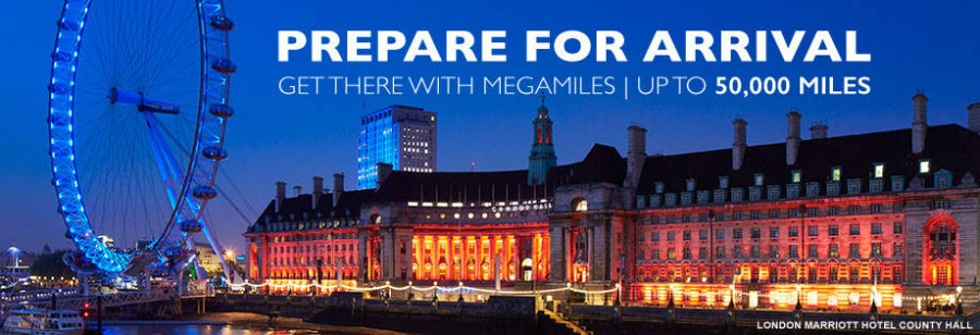 Earn airline bonus miles with the MegaMiles Marriott promotion