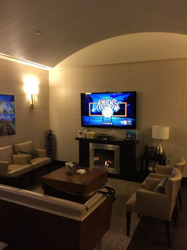 My favorite use of points ever vip at the knicks with - Luxury hotels near madison square garden ...