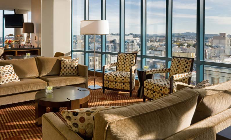 Club Lounge at the InterContinental San Francisco