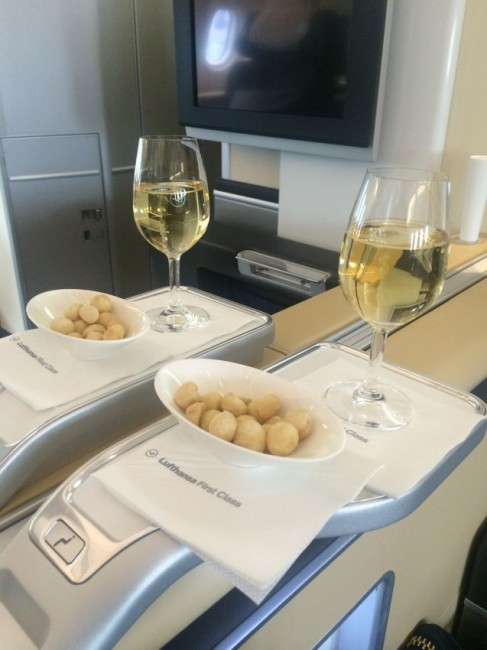 I recently enjoyed Lufthansa' First Class from Munich to JFK for 62,500 Membership Rewards points