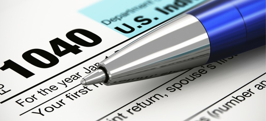Taxes IRS 1040 featured shutterstock 124020775