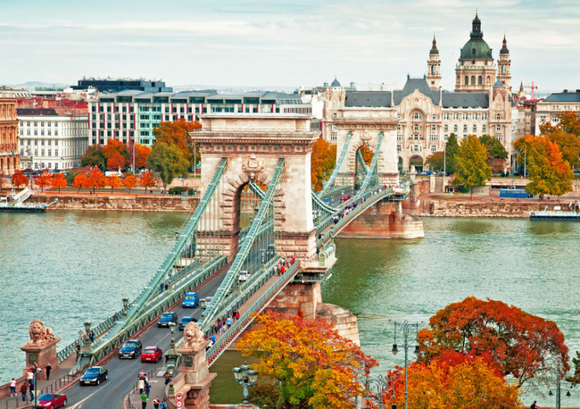 Budapest's Chain Bridge - Photo courtesy of Shutterstock