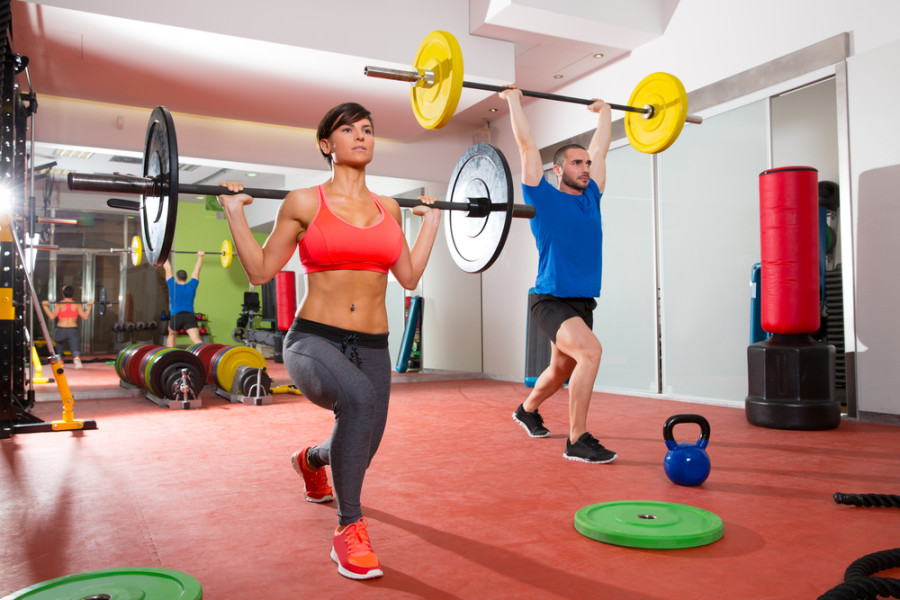 In addition to the camraderie of teamwork, CrossFit membership offers a points-and-miles angle. Photo courtesy of Shutterstock.