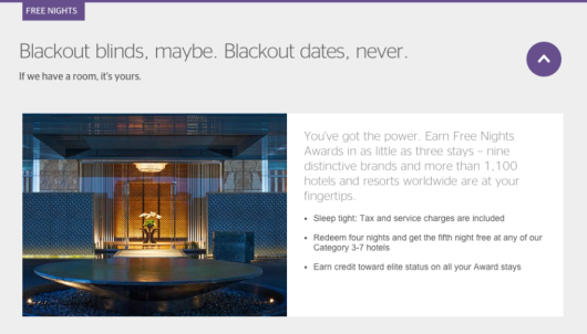 "Which Hotels Follow Their Own ""No Blackout Dates"" Policies?"