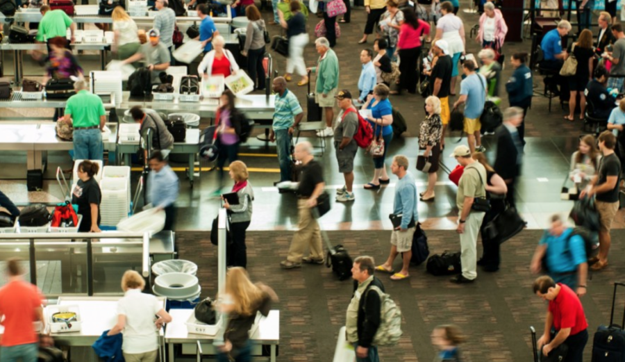 Having TSA Pre-check will save you a bunch of time if you're late for your flight.