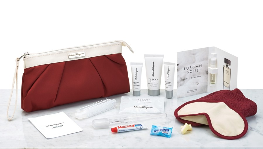 Best Business Class Amenity Kits In The Skies
