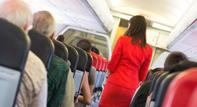 In case of an in-flight birth, it's up to the crew to determine if the plane needs to make an emergency landing.