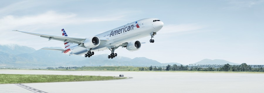 American Airlines 777-300ER featured