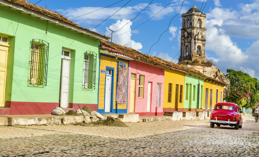 I can't wait to visit the colorful Cuban town Trinidad. Photo courtesy of Shutterstock.