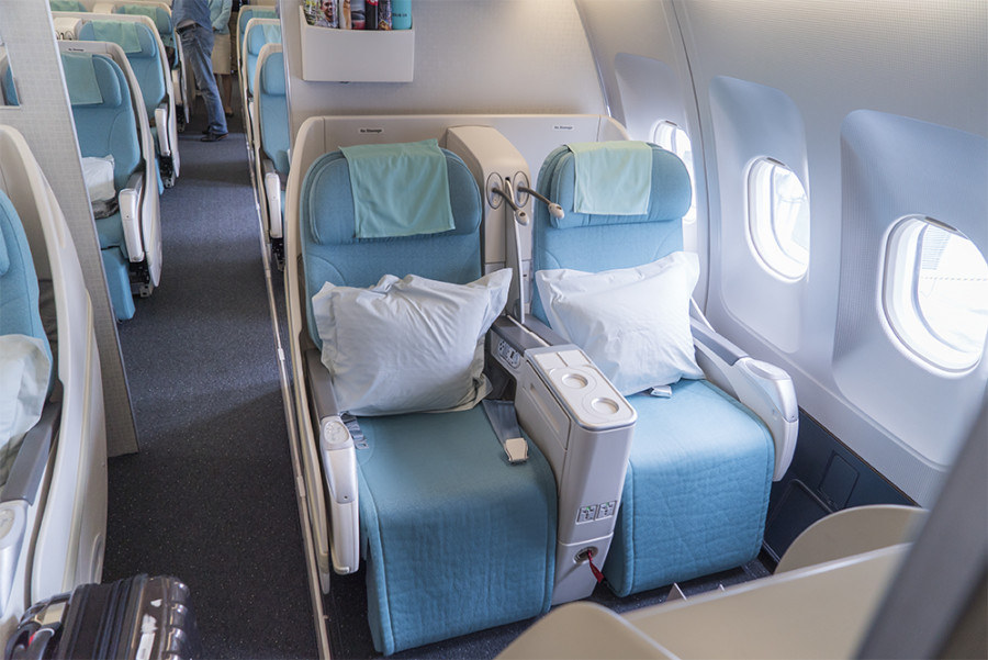 Flight Review Korean Air A330 And A380 First Class