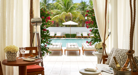 The Shelbourne Wyndham in South Beach for just 15,000 points--a great deal!