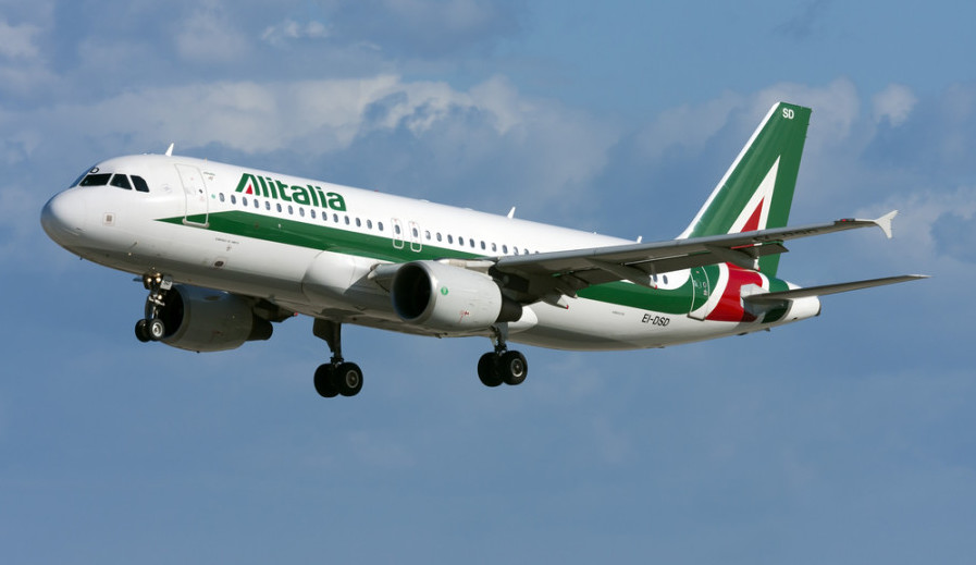 Alitalia will not be renewing its Air France/KLM partnership in 2017. Photo courtesy of Shutterstock.