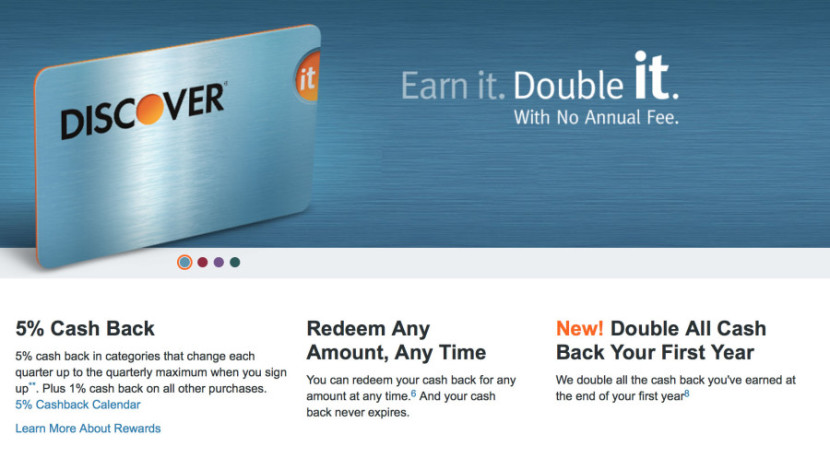 The Discover it card can earn you serious cash back while paying charging no annual fee.