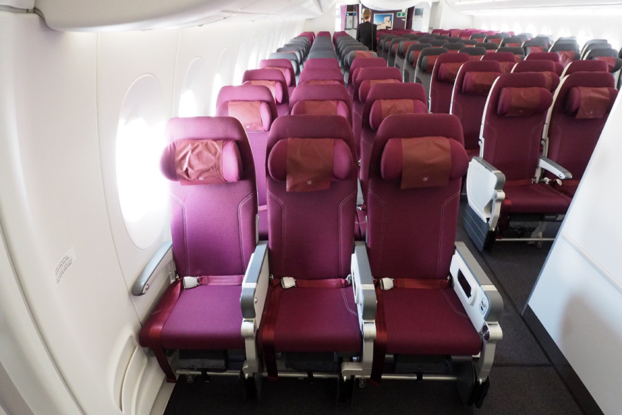Like on other aircraft, all economy seats aren't created equal, but you'll be a happy camper if you happen to score a seat in row 30.